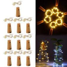 3 x 15 LED CORK SHAPE BOTTLE LIGHT STRING LIGHTS WINE BOTTLE LAMP NIGHT PARTY