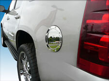 Chevy Avalanche Chrome fuel door gas cap petro cover trim 07-2013