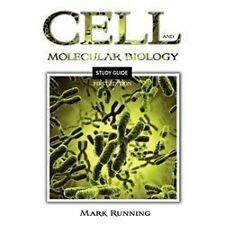 Cell and Molecular Biology Study Guide by Mark Running (2013, Paperback)