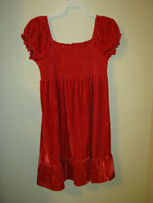 New George girl's red velvet style  party dress 7/8   Princess