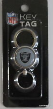 Oakland Raiders Key Ring NFL Sports Official Licensed Football Double Ended