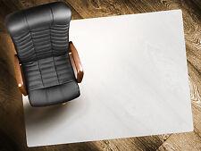 Bodenschutzmatte Bürostuhlunterlage 90x120cm Polypropylen Hartboden Floordirekt