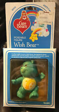 Vintage 1984 Poseable Figure Care Bear Wish Bear New In Package # 60410