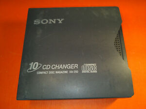 Original Sony XA-250 10 CD Changer Compact Disc Magazine with or without Sleeve