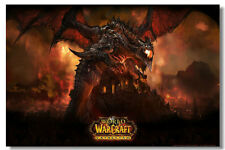 """World of Warcraft Game Online Silk Wall Poster Picture Decor 24""""x36"""" MOP025"""
