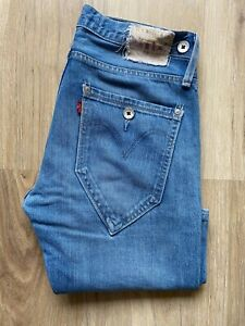 LEVI'S 504 Straight Men's Blue Zip Jeans Size W31/L32
