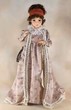 "Brinn's Dolley Payne Madison 16"" Porcelite Doll American Tradition First Lady"