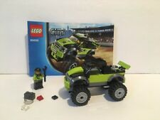 Lego 60055 City Monster Truck Replacement Pieces Figure and Manual No Stickers