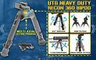 UTG Heavy Duty Recon 360 Degree Multi-axial Tilting Bipod 5.59