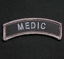 MEDIC TAB USA ARMY VELCRO® BRAND FASTENER SWAT OPS MORALE BADGE PATCH