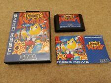 Sega Mega Drive-dinamita embriagador En Caja