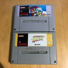 Street Racer & Mario Paint For Super Nintendo / SNES - UK / PAL