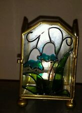 Stain Glass Candle Holder