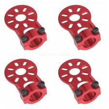 4Pcs Red Aluminium Alloy Motor Mount Holder for 12mm Glass/Carbon Fiber Tube