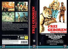 (VHS) Frei geboren - Königin der Wildnis - Virginia McKenna, Bill Travers (1966)