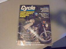 AUGUST 1980 CYCLE MAGAZINE,SUZUKI GS1000GT,COVER,YAMAHA XT,TT250S,MAICO 250 MAG-
