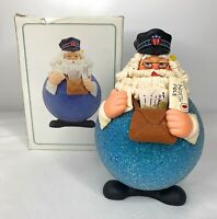 "Department 56 Postman Ornament Santa 6.5"" Christmas 18521 Mailman"