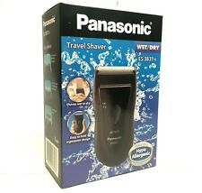 Panasonic ES3831K Portable Single Blade Shaver. Shaving Machine Washable Travel