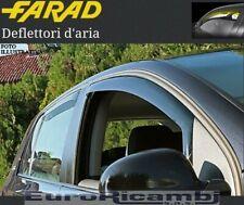 FARAD 12.335 MINI DEFLETTORI ANTI TURBO ANTERIORI FIAT PUNTO 3P 1999-2005