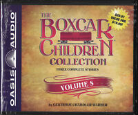 NEW The Boxcar Children Collection Volume 8 Gertrude Warner CD Audio Book