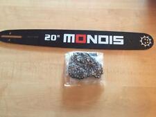 "Brand New 20"" MONDIS Chainsaw Bar & Chain Combo .325 | 0.058 | 76"