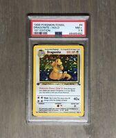 1999 Pokemon 1st Edition Dragonite Holo - PSA 7.5 (NM+)