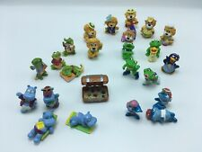 Fererro Kinder lot of 24 figures Leo the Lion, frog, Alligator, hippo, shark etc