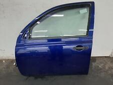 2004 NISSAN MICRA K12 5 Door Hatchback Blue BW6 N/S Passengers Left Front Door