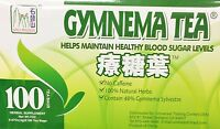 Gymnema Tea Herbal Supplement No Caffeine Healthy Blood Sugar Level Diabetics