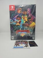 Limited Run Streets of Rage 4 Collectors Edition LRG Nintendo Switch