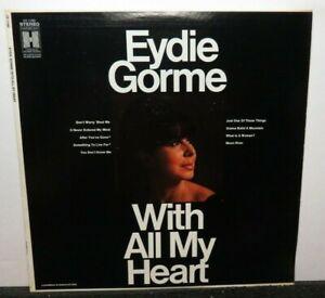 EYDIE GORME WITH ALL MY HEART (VG+) HS-11285 LP VINYL RECORD