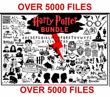 5 - Harry Potter Designs Svg Bundle (Over 5,000 Designs)