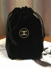 Chanel VIP Gift Travel Velvet Drawstring Bag