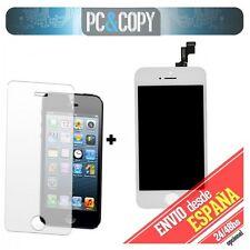 Pantalla LCD RETINA + Tactil completo para iPhone 5S Blanco + cristal templado N