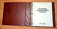 CatalinaStamps: Heritage Imperforate Stamp Album, Binder & Blank Pages Only, #E