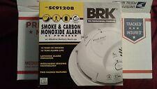 6-First Alert Sc9120B Carbon Monoxide & Smoke Alarm Ac Power & Battery (6 Pack)