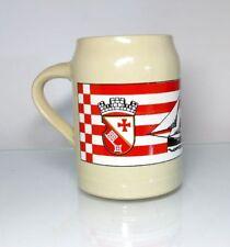 boccale birra boccale tankard BREMA Vegesack 1987