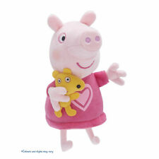Peppa Pig Talking Bedtime Peppa & George - with their favourite teddy & dinosaur