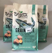 Purina Beyond Grain-Free Adult Dry Cat Food Ocean Whitefish & Egg 3 lbs, 3 Pack