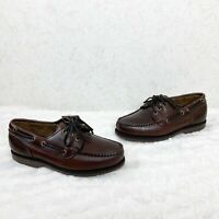 NWT Sebago Hitchcock Mens Casual Marine Loafers Boat Shoes Size 6