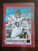 2020 Donruss Football Rated Rookie RC Laviska Shenault Jr. Red Press Proof NFL