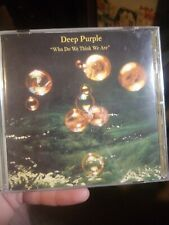 Who Do We Think We Are [UK Bonus Tracks] by Deep Purple (CD, Oct-2000, EMI Musi…