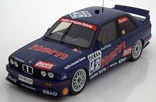 Minichamps 1992 BMW M3 E30 DTM AUTO MAASS HARALD BECKER #42 1:18 LE 528*New!