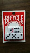 BICYCLE PLAYING CARDS AND 5 6 SiDED DICE BRAND NEW
