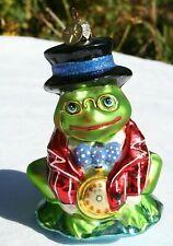 Kurt S Adler Polonaise Frog Toad Hand Blown Ornament Komozja