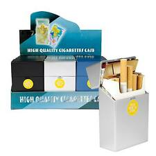 Zigarettenetui Zigarettenbox in Metalloptik  Push to open Technik