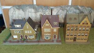 Kibri, ho, Lot maisons et Immeuble.
