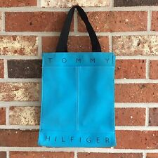 VTG Tommy Hilfiger Small Vintage 90s Tote Blue Spell Out Bag
