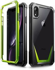 Apple iPhone XR ,Poetic® [Ultra Hybrid] Bumper Shockproof Cover Case Green