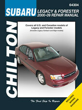 Chilton Repair Manual 2000-09 64304 Subaru Legacy & Forester #64304